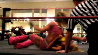 Velvet Sky(with Angelina Love) vs Brittany Savage Part 3