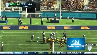 Cal Football: Bank of the West Highlights - Portland State