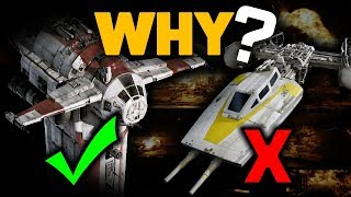 Why Not Use Y-Wings?