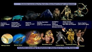 'Dashavatar' & 'Darwin's Evolution Theory'