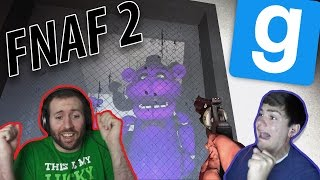THE HORROR OF FREDDY | GMod Horror Maps: Five Nights At Freddy's 2 Part 2