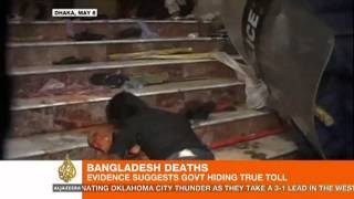 Video suggest Bangladesh hiding death toll