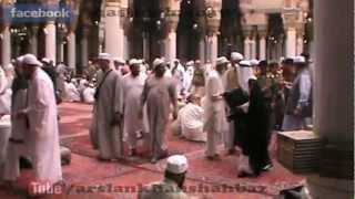Nawaz Shareef Inside Masjid Al-Nabawi Shareef (Madina Pak)