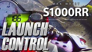 BMW S1000RR Launch Control 186 mph ( 300 km/h ) - MaxWrist
