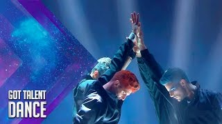'The Porfiunm Crew, 'break dance' al ritmo del piano   Especial Dance   Got Talent España 2017