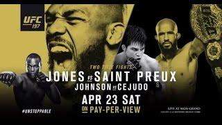 UFC 197: Jones vs Saint Preux - Extended Preview