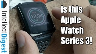 Is This Apple Watch Series 3? No This is Weloop Hey 3S!