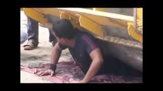 صدق او لاتصدق رجل يمني ذو قوه خارقة
