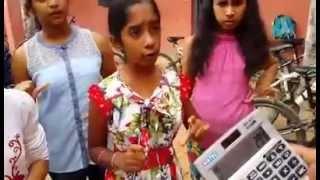 'Meet the Human Calculators' Indian Girls