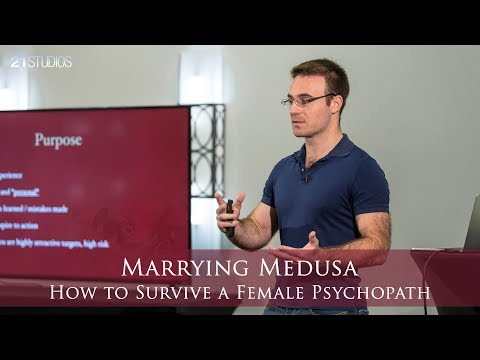 Marrying Medusa: How to Survive a Female Psychopath | Anthony Johnson | Full Length HD