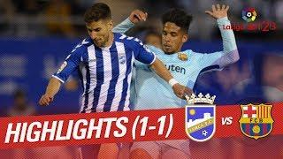 Resumen de Lorca FC vs FC Barcelona B (1-1)