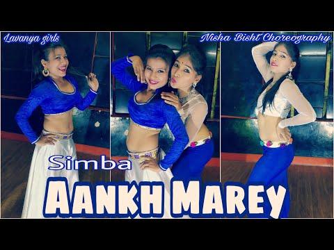 Aankh Mare||Simba||Bollywood song||Bellydance||Nisha Bisht Choreography