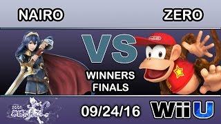 2GGT: Abadango Saga - NRG | Nairo (Lucina) Vs. TSM | ZeRo (Diddy Kong) Winners Finals - Smash Wii U