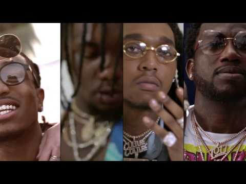 Migos - Slippery feat. Gucci Mane [Official Video] Video Clip
