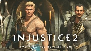 Injustice 2 Story Mode 第十章 Black Adam , Aquaman   超級英雄:武力對決 2