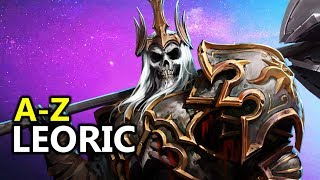 ♥ A - Z Leoric - Heroes of the Storm (HotS Gameplay)