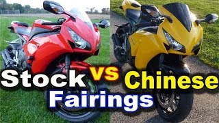 Aftermarket Fairings vs Stock Fairings - Truth About Chinese Motorcycle Fairings - Buyer Guide Tips