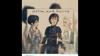 Hiccup x Elsa FanArt