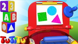 TuTiTu Preschool | Learning Shapes for Babies and Toddlers | Drawing Kit