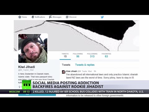 Oops! New Zealand ISIS militant accidentally tweets his Syria location