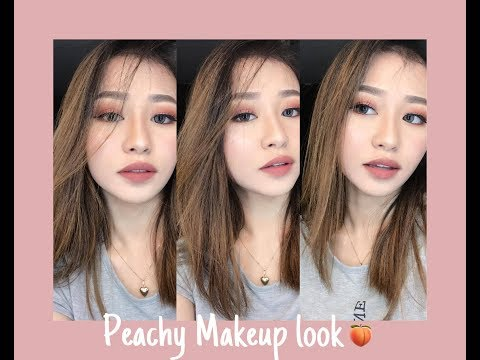 Peachy Makeup Look   Princess Aiko