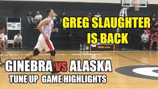 Ginebra vs Alaska   Tune Up Game Highlights - July 13, 2017