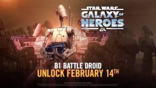 Star Wars: Galaxy of Heroes — B-1 Battle Droid
