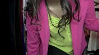 Outfit of the Day - Hot Pink Blazer!
