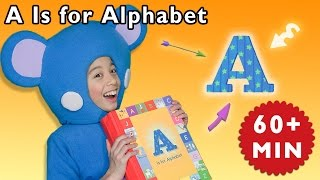 A is for Alphabet and More | Family Music Color Game | Baby Songs from Mother Goose Club!