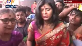 Kumari 21F Fame Hebba Patel Glitters At Kakinada