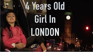 London Trip by 4 Years Old Girl | DAY#1 | Aimalifestyle