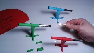 | DIY | How to make a paper ' ROCKET LAUNCHER'' | EASY TUTORİAL | By Dr. Origami