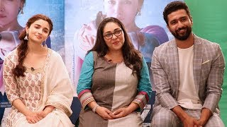 EXCLUSIVE: Alia Bhatt, Meghna Gulzar and Vicky Kaushal get candid about 'Raazi'