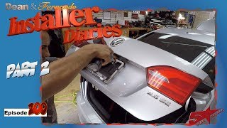 VW Jetta In For An Upgrade,  Gets A Backup Camera Installer Diaries 200 Part 2