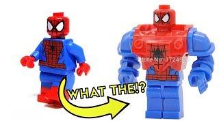 CRAZY FAKE LEGO - Official Minifigures VS Chinese Knock Offs