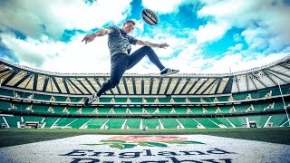 Rugby Freestyle Tricks ! Andrew Henderson WORLD CHAMPION!