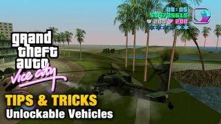 GTA Vice City - Tips & Tricks - Unlockables Vehicles