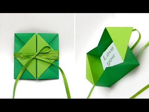 Xxx Mp4 DIY Pop Up Diamond Envelope DIY Valentine Card Origami Gift Envelope Card 3gp Sex