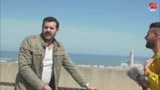شاهد ماذا فعل النجم عمرو يوسف برامز جلال بعد اكتشافه للمقلب