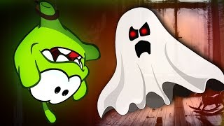 Om Nom Stories: Ghost Attack | Cut the Rope | Funny Animal Cartoon for Children