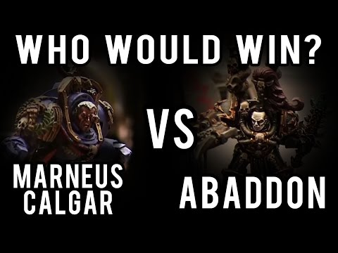 watch Abaddon vs Marneus Calgar Warhammer 40k Battle Report - Who Would Win Ep 77