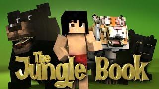 Minecraft Parody - THE JUNGLE BOOK! - (Minecraft Animation)