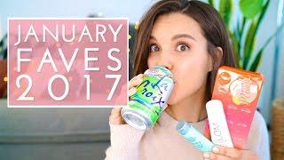 January Favorites 2017!   Ingrid Nilsen