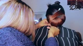 BRIDAL HAIR STYLE || CLOSURE WIG || BRIDAL HAIRSTYLE FOR WEDDING