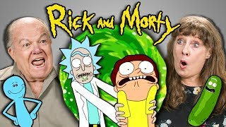 ELDERS REACT TO RICK AND MORTY