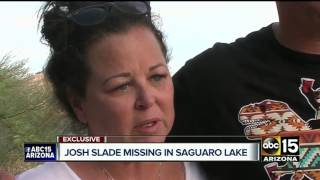 EXCLUSIVE: Mother speaks out about son who's missing at Saguaro Lake