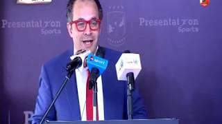 محمد كامل رئيس بريزنتيشن : انا لو توفيت النهارده مفيش حلم محققتوش بعد رعاية النادى الاهلى