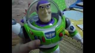 Buzz Lightyear Spainish ver. Disney Store Exclusive demostration