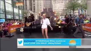 Miley Cyrus - Wrecking Ball (Live on Today Show 2013)