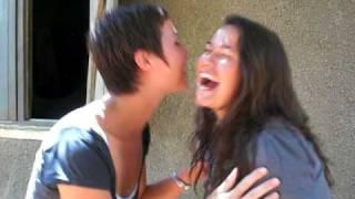 Three European Kisses